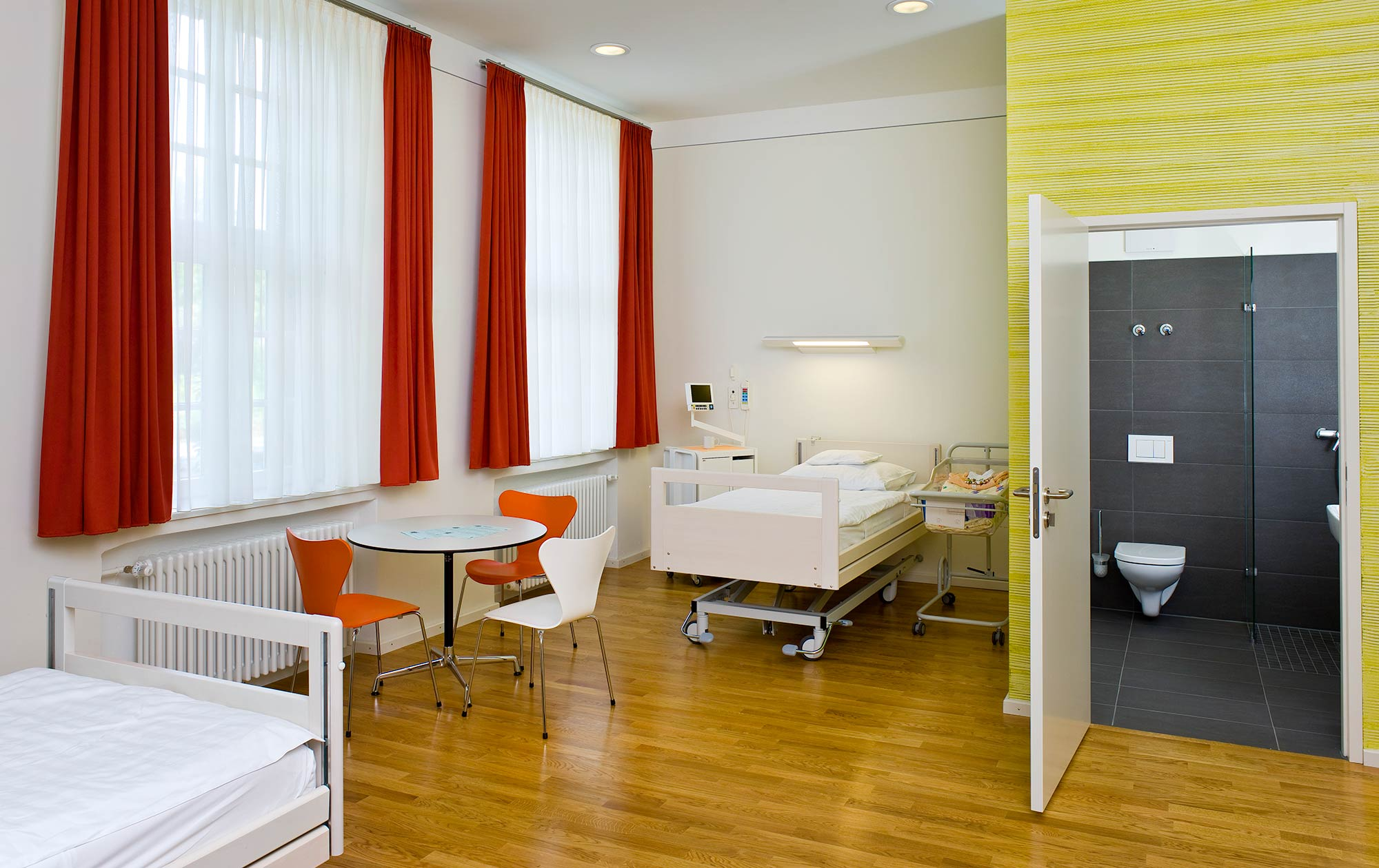 Krankenzimmer Villa Menge, Salem Heidelberg