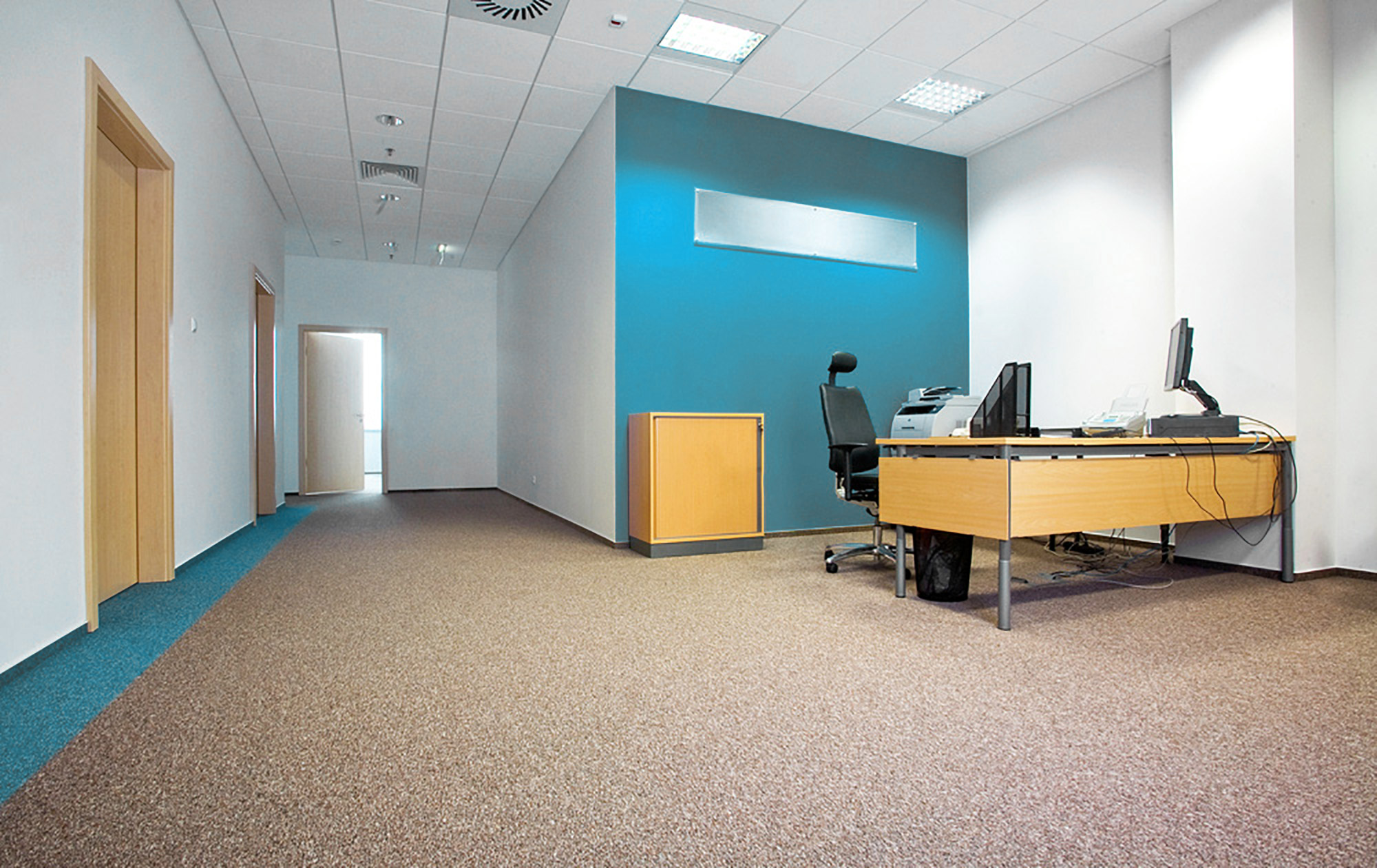 Teppich für Büro und Arbeitsräume
